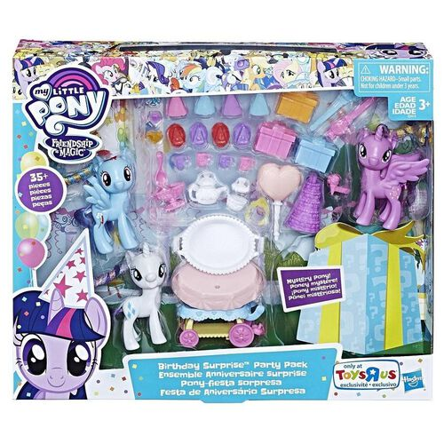 My Little Pony Birthday Surprise Party
