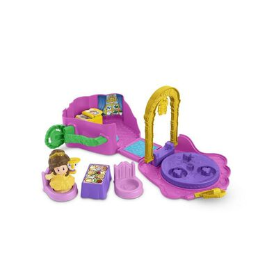 Fisher-Price Little People Disney Princess Fold And Go Playset - Assorted