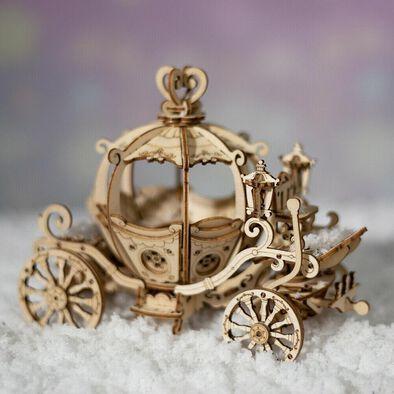 Robotime DIY Pumpkin Cart