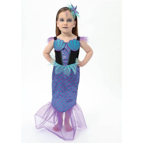 Wealth Ind Halloween Girls Mermaid Costume