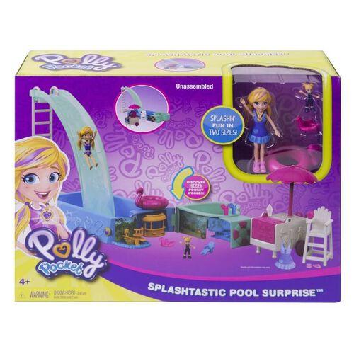 Polly Pocket Splashtastic Pool Surprise