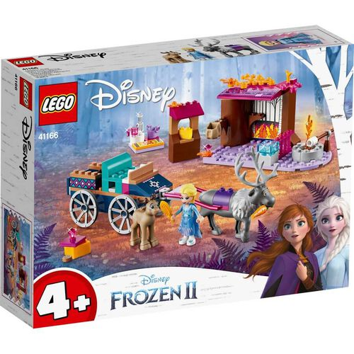 LEGO Disney Frozen 2 Elsa's Wagon Adventure 41166
