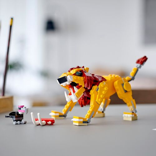 LEGO City Wild Lion 31112