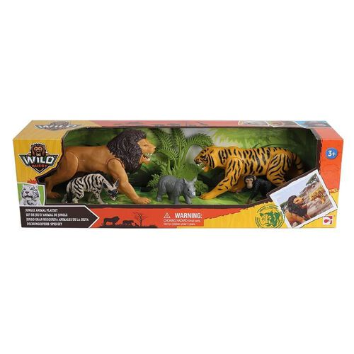 Wild Quest Jungle Animal Playset
