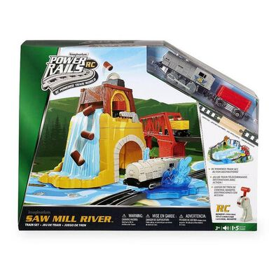 Universe of Imagination Power Rails Sawmill Timbers Train Set
