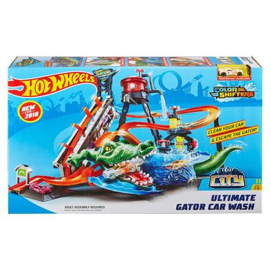 Hot Wheels Ultimate Gator Car Wash