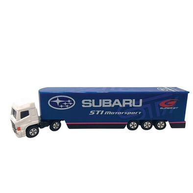 Tomica Subaru Sti Motorsport Transporter