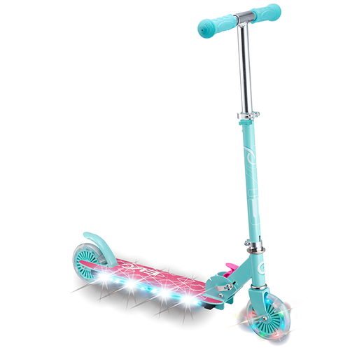 Evo Light Up Scooter Pink
