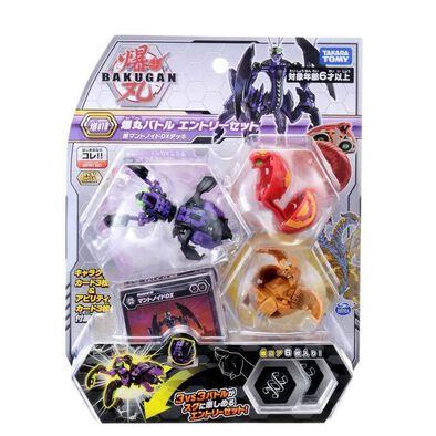 Bakugan Baku-018 Starter 3 Balls Pack Vol.2