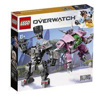 LEGO Overwatch D.Va and Reinhardt 75973