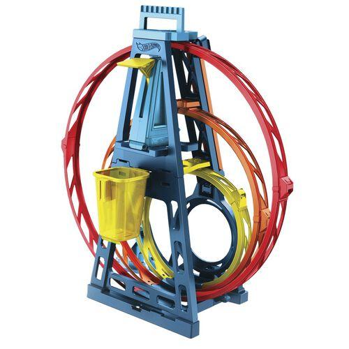 Hot Wheels Track Builder Triple Loop Kit