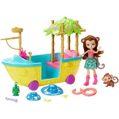 Enchantimals Junglewood Crusie Boat