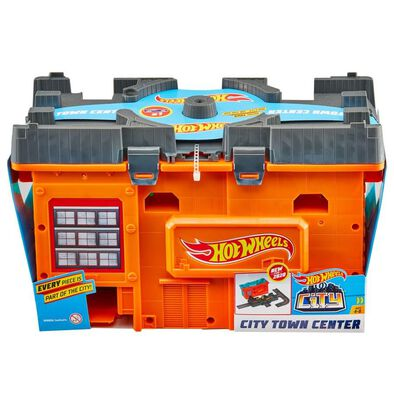Hot Wheels City Town Center Play Set