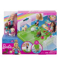 Barbie Dreamhouse Adventures Sports Chelsea Soccer Playset