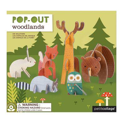 Petit Collage Pop Out Woodlands