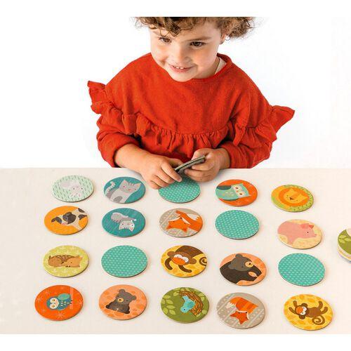Petit Collage Memory Game Animals & Babies