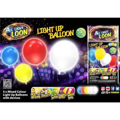 Yoheha All Light Loon Light Up Balloon - Assorted