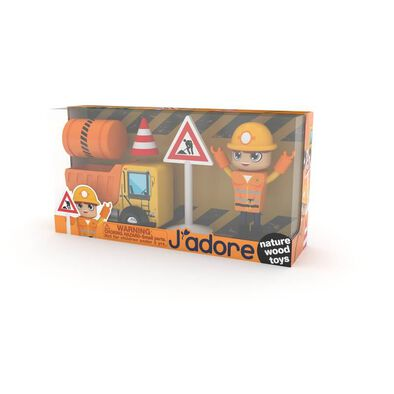 J'adore Construction Man Gift Box