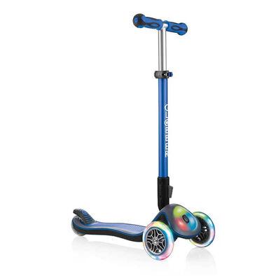 Globber Elite Lights Navy Blue Scooter