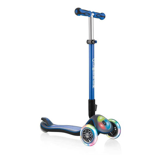 Globber Elite Lights Navy Blue Scooter