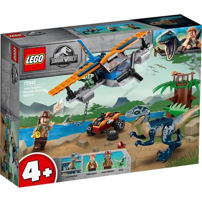 LEGO Jurassic World Velociraptor: Biplane Rescue Mission​ 75942