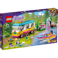 LEGO Friends Forest Camper Van And Sailboat 41681