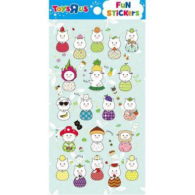 Toys R Us Tru Sticker- Jamong Cat