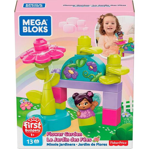 Mega Bloks First Builders Flower Fairies Flying School
