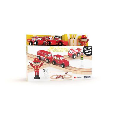 J'adore Firefighter Railway Set