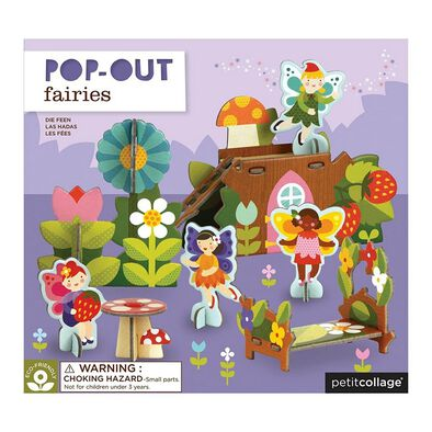 Petit Collage Pop Out Fairies