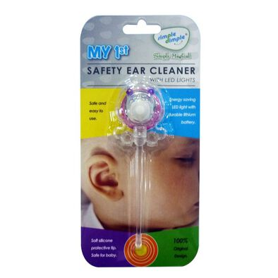 Simple Dimple My 1St Baby Ear Cleaner With Led Light - Assorted