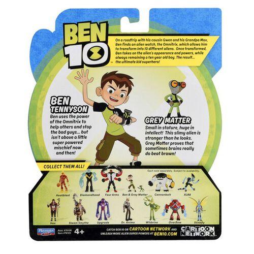 Ben 10 Ben Tennyson & Grey Matter (76100R-35)
