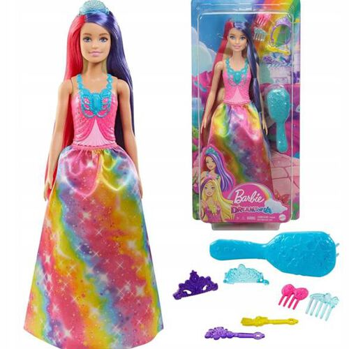 Barbie Dreamtopia Doll with Extra Long Two Tone Fantasy Hair Styling - Assorted