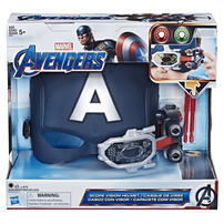 Marvel Avengers Captain America Scope Vision Helmet
