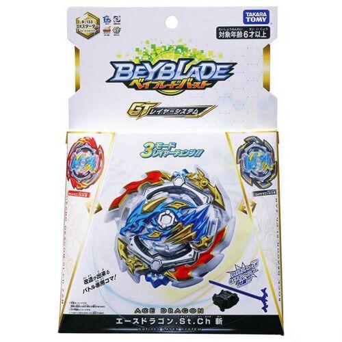 Beyblade Burst Starter B 133 DX Ace Dragon.St.Ch ZAN