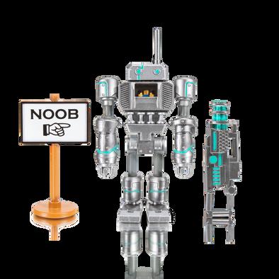 Roblox Rob Figure Pack Noob Attack Me