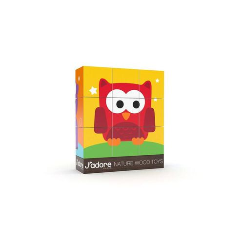 J'adore Jungle Mini Blocks Puzzle - Assorted
