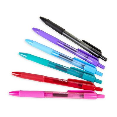 Crayola 6 Colours Color Gel Pen