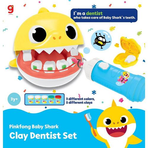 Pinkfong Baby Shark Clay Dentist Set