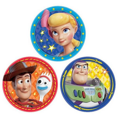 Toy Story Round Plate 18cm