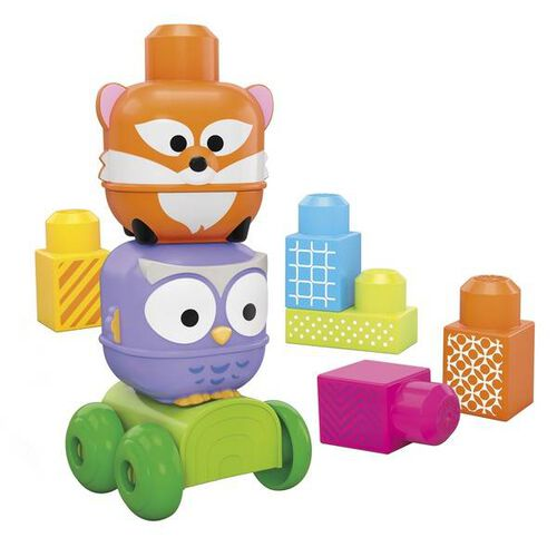 Mega Bloks First Builders Stack N Roll Discoveries