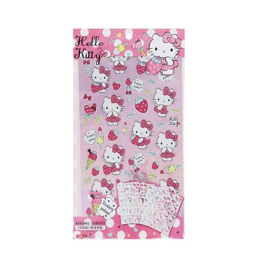 Hello Kitty Stickers - Assorted