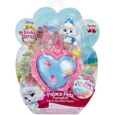Disney Palace Pets Pop And Stick Mini Playset - Assorted