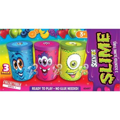 3Ct. Scentos Scented Slime