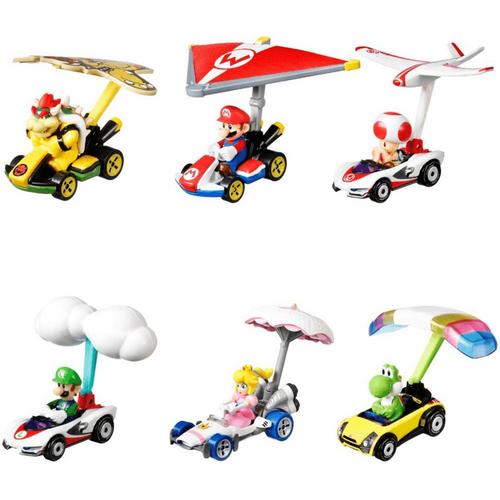 Hot Wheels Mario Kart Glider - Assorted